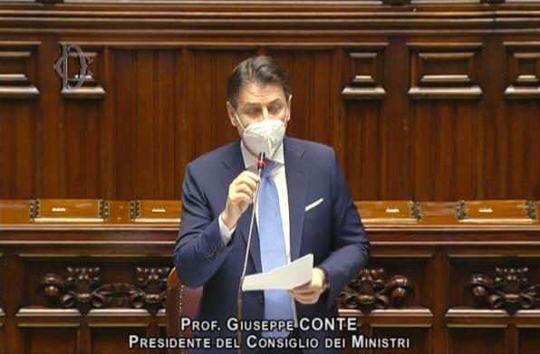 Conte in Parlamento