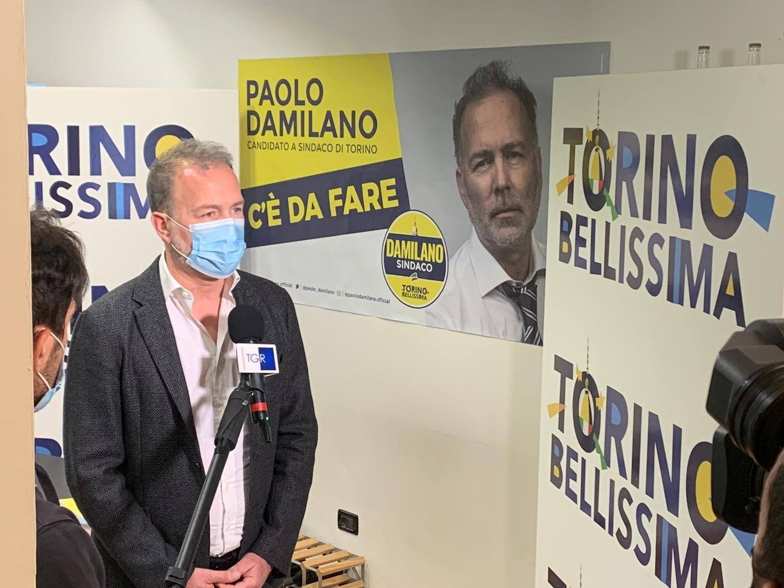 Paolo Damilano Amministrative Torino