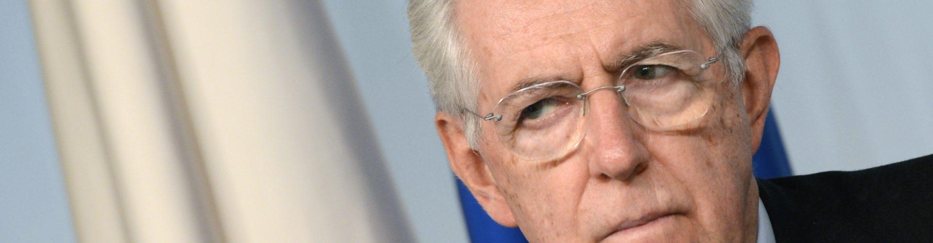 Attenzione, Mario Monti dispensa consigli al governo Conte (per nulla montiano)