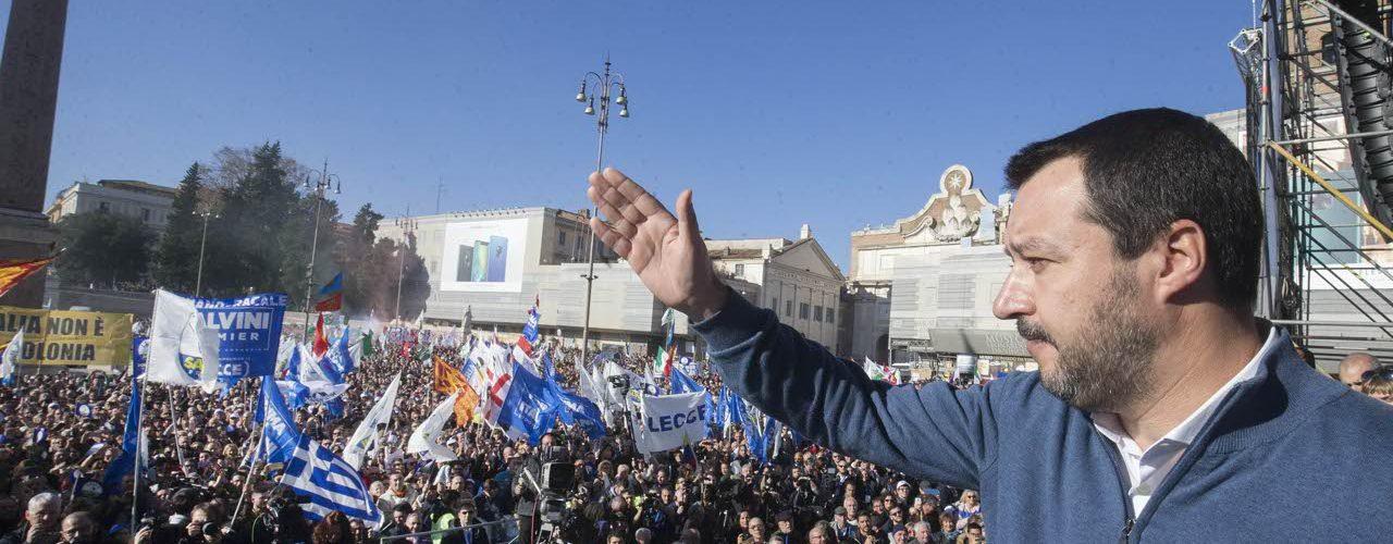 Ecco il vero messaggio lanciato da Salvini in piazza del Popolo a Roma