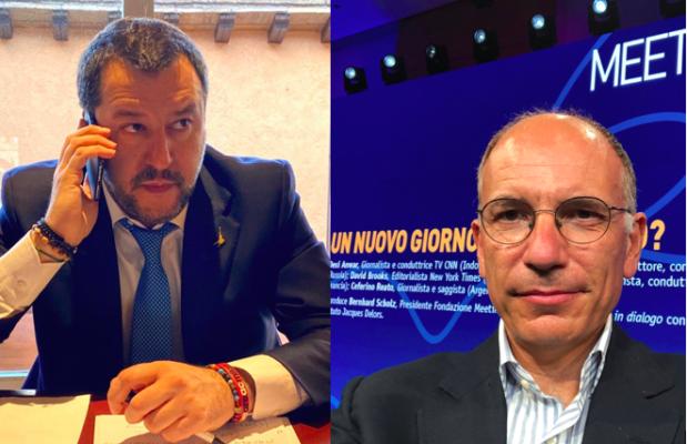 Salvini Letta