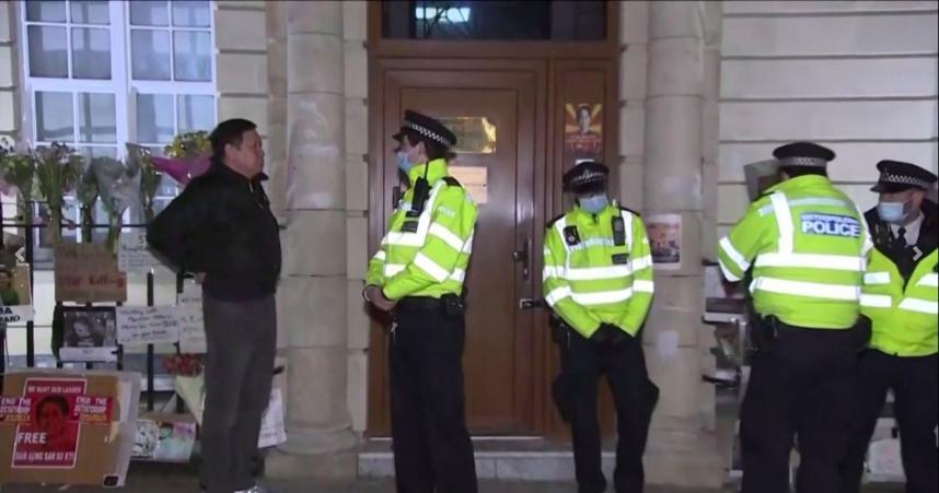 Mini-golpe Ambasciata Londra