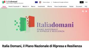 italia domani pnrr