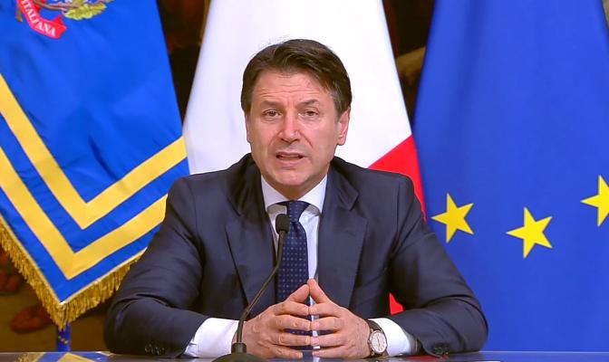 conte lockdown Italia