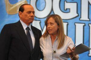 Giorgia Meloni Silvio Berlusconi