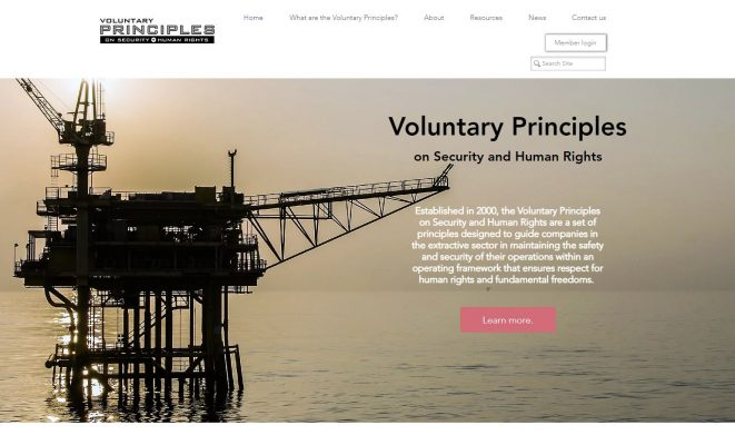 Voluntary Principles Initiative