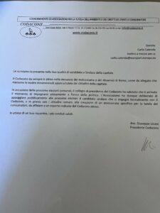 Calenda Codacons