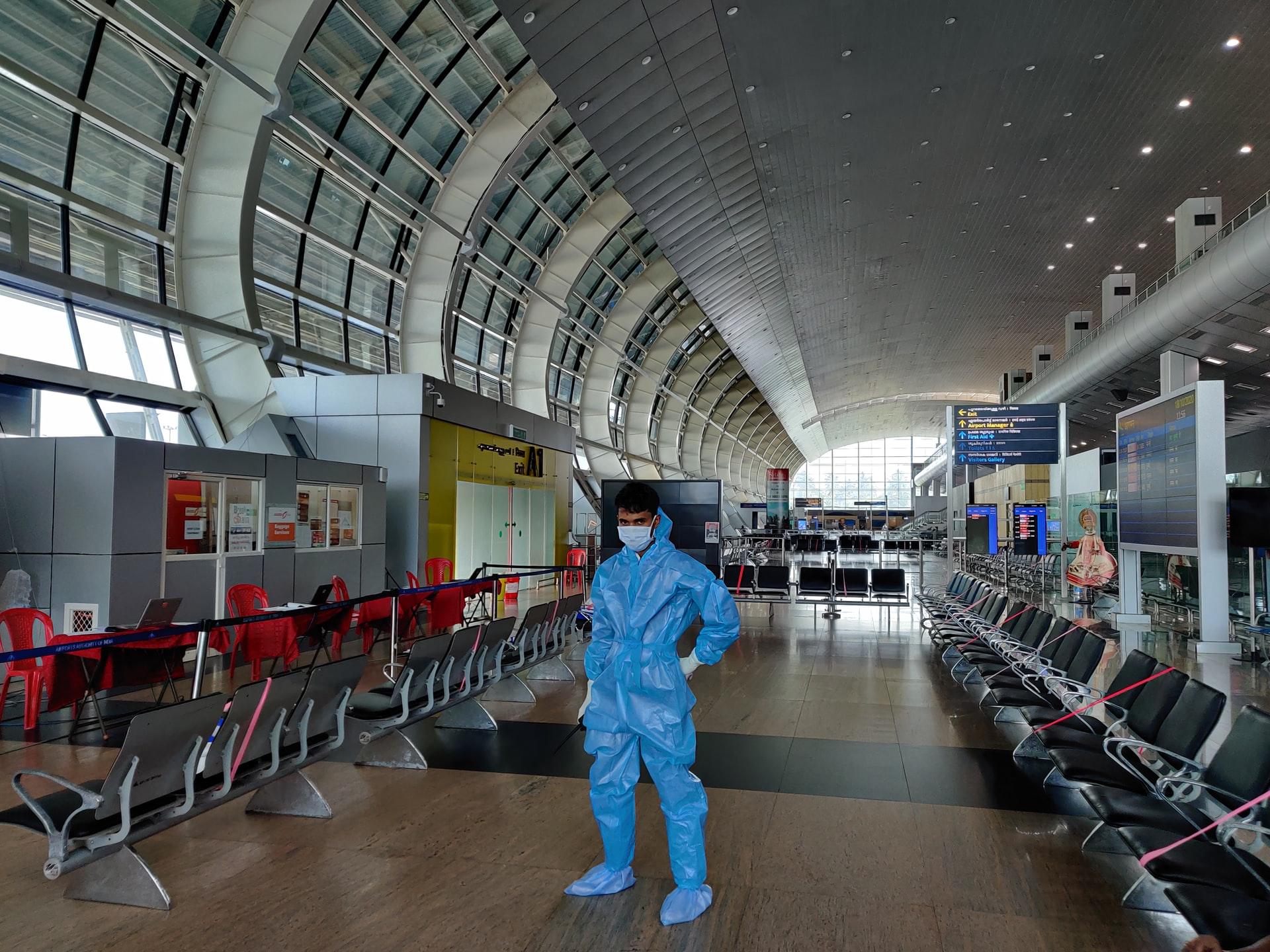 aeroporto covid