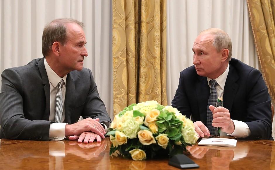 Medvedchuk Putin