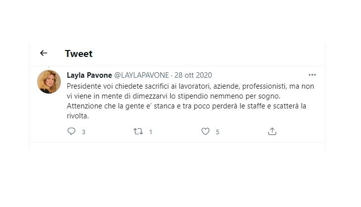 Layla Pavone Conte