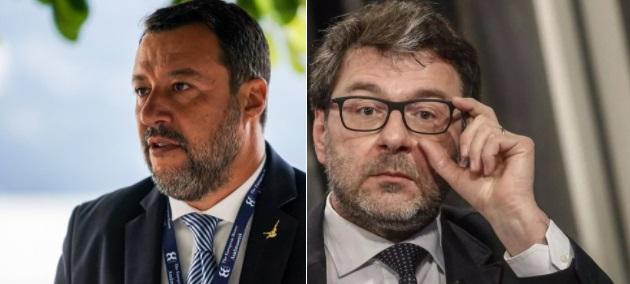 Salvini Giorgetti Green Pass