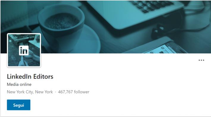 LinkedIn news editor
