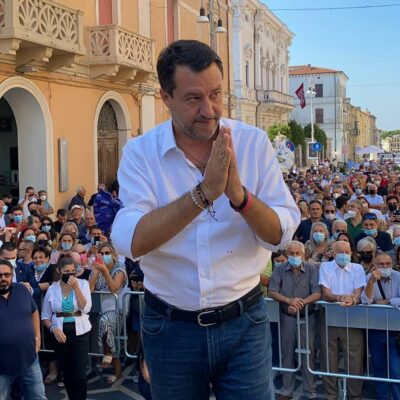 Tamponi Salvini