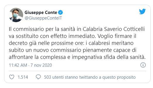 tweet saverio conticelli